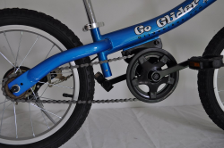 Go Glider balance bike with pedals