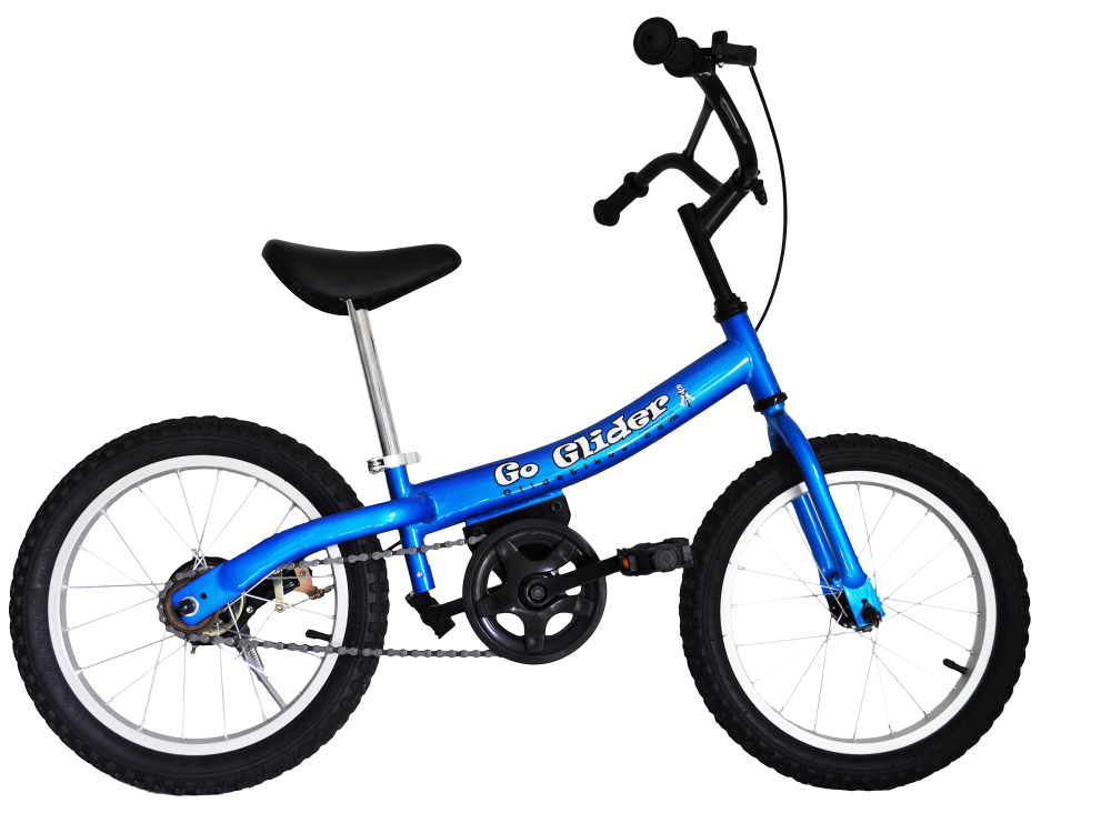 Blue Go Glider with Pedal Assembly