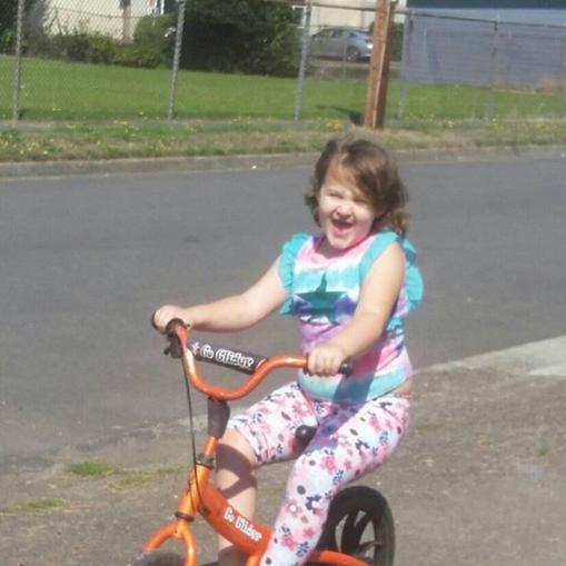 Girl balance bikes