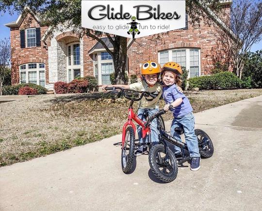 3 size balance bikes