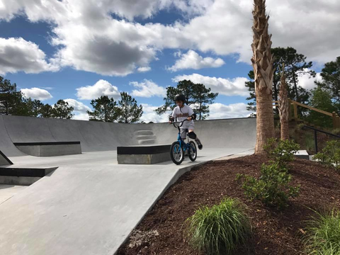 Tricks on balance bikes