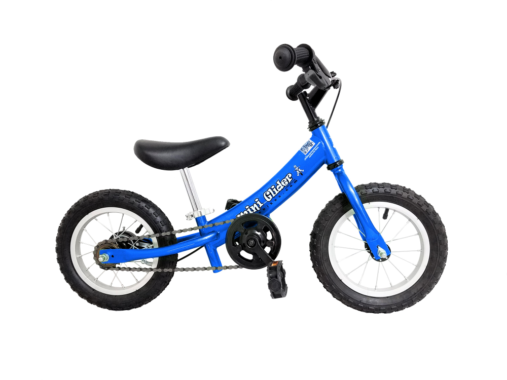 Mini Glider balance bike with pedals